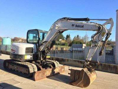 Bobcat E 80 sold by Piolanti srl