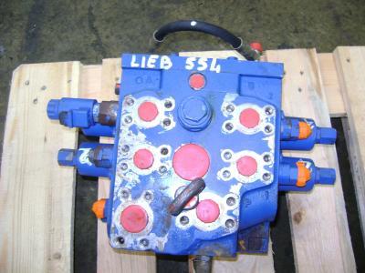 Hydraulic distributor for Liebherr 554 sold by PRV Ricambi Srl