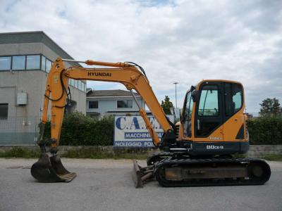 Hyundai ROBEX 80 CR9 sold by C.A.E.R. Srl