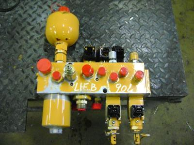 Block valve for Liebherr 904 sold by PRV Ricambi Srl