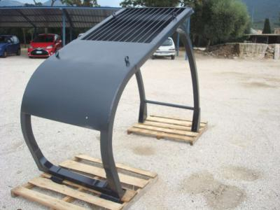 Rollover protective structure sold by OLM 90 Srl