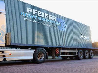 Groenewegen DRO-12-27 3 Axle Trailer sold by Pfeifer Heavy Machinery
