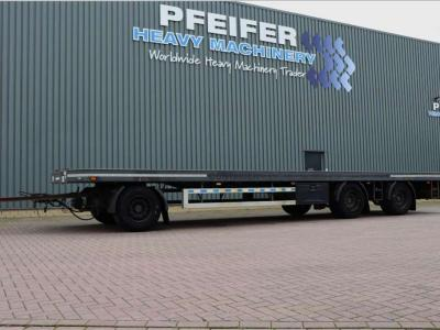 GS MEPPEL AV-2700 P 3 Axel Container Traile sold by Pfeifer Heavy Machinery