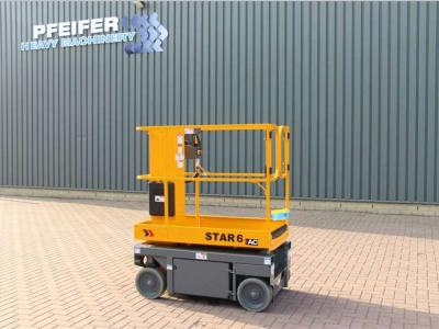 Haulotte STAR 6AC NEW AND UNUSED SELF PROPELLED STAR 6AC 2 sold by Pfeifer Heavy Machinery