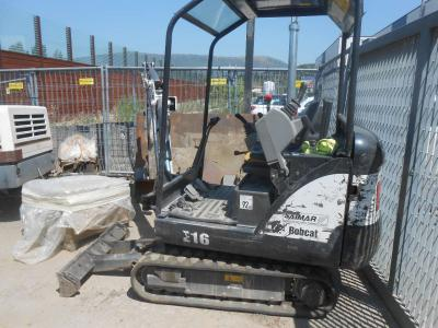 Bobcat E16 sold by Aerotecnica Spa