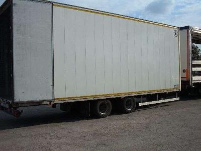 Miele Closed box trailer sold by Ferrara Veicoli