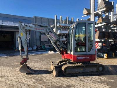Takeuchi TB138FR sold by General Car Srl