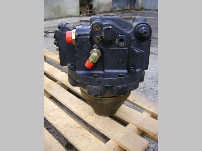 Track motor for Fiat Hitachi Ex 215 sold by PRV Ricambi Srl