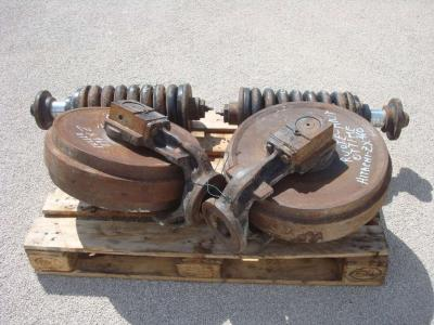 Idler wheel for Hitachi ZX 160 sold by OLM 90 Srl