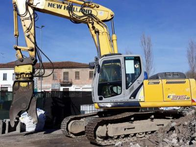 New Holland E215B sold by DMO Spa
