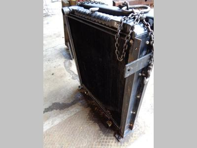 Water radiator for Fiat Hitachi Ex 455 sold by PRV Ricambi Srl