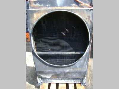 Water radiator for Fiat Hitachi W 190 Evolution sold by PRV Ricambi Srl
