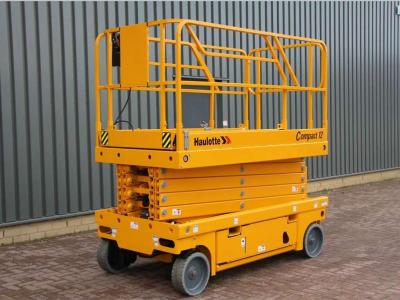 Haulotte COMPACT 12 Electric sold by Pfeifer Heavy Machinery