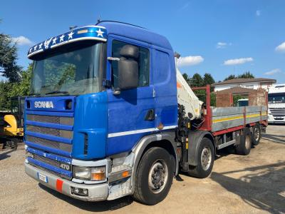 Scania 124G 470 sold by GM Service srl