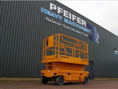 Haulotte COMPACT 10 New Electric 10.15 m Scissor Lift sold by Pfeifer Heavy Machinery